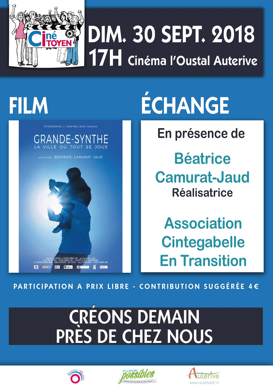 Ciné Citoyen 30-09-2018