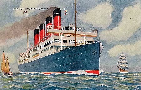Image of passenger ship Arundel Castle.