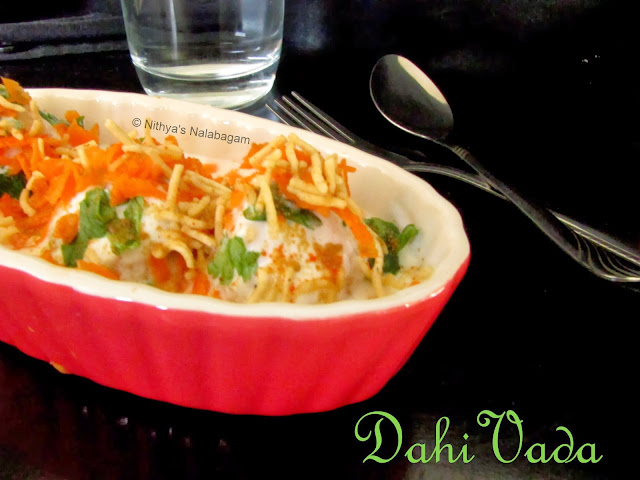 Dahi Vadai | Step by step pictures