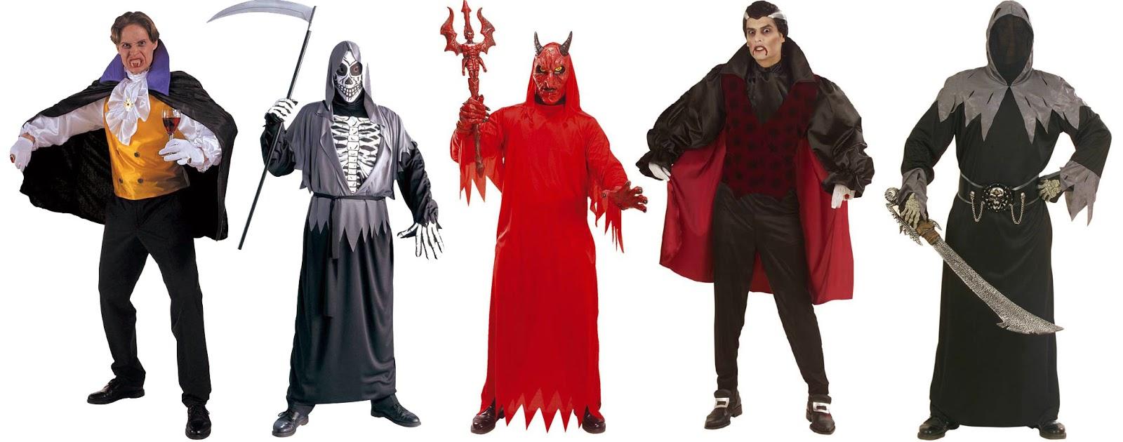 Herre Kostumer til halloween