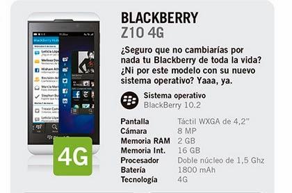 blackberry z10 4g gratis yoigo