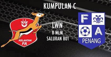 Kelantan vs Pulau Pinang