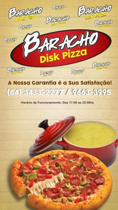 Baracho Disk Pizza