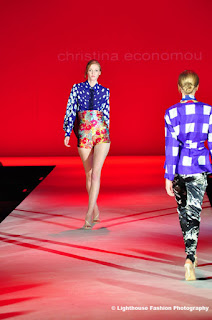 Christina Economou Graduate Fashion Week 2011