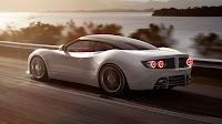 Spyker B6 Venator concept white rear side
