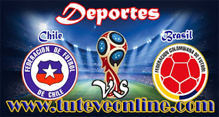 Chile vs Colombia | TuTeveOnline.com | Eliminatorias Rusia 2018