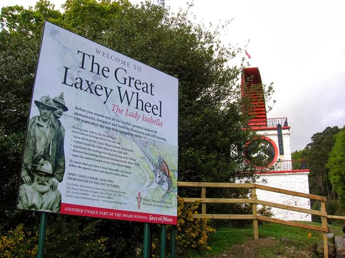 The worlds largest water wheel, Laxey