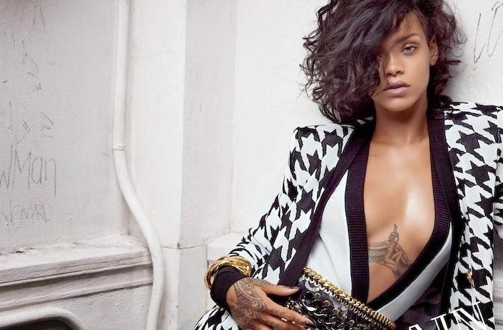 Rihanna for Balmain 2014