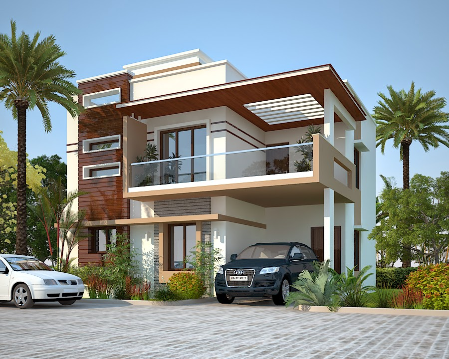 House Front Elevation East Facing : Peninsula villas plots apartment projects sarjapur