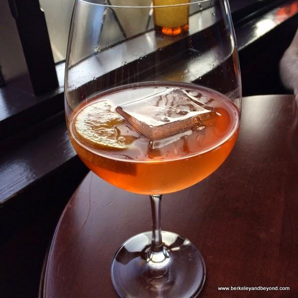 Italian Spritzer at Bobo's Lounge in San Francisco