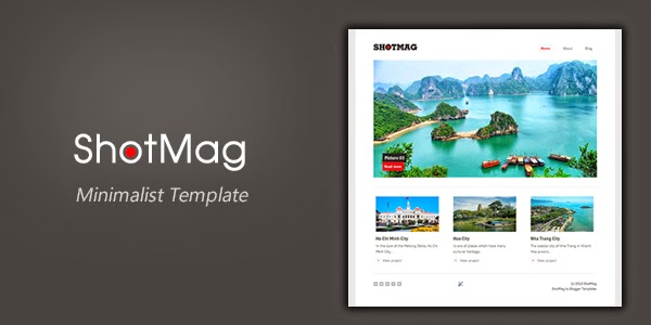 Shotmag Responsive Blogger Template