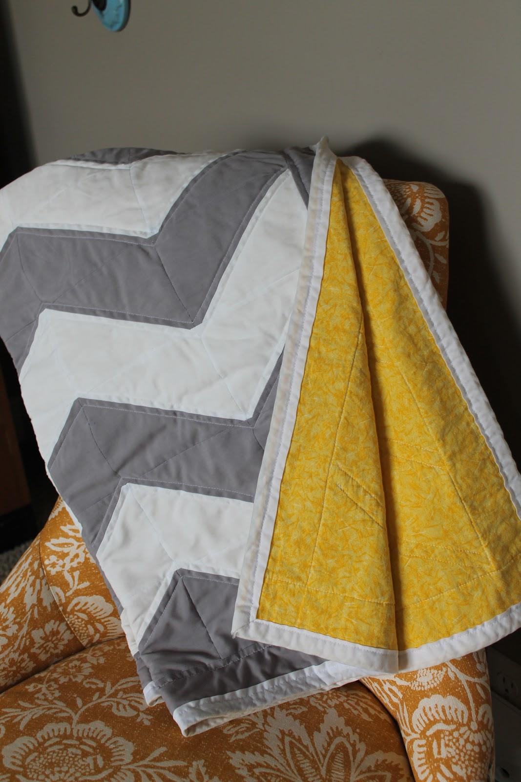 Janes Girl Designs Chevron Quilt Tutorial