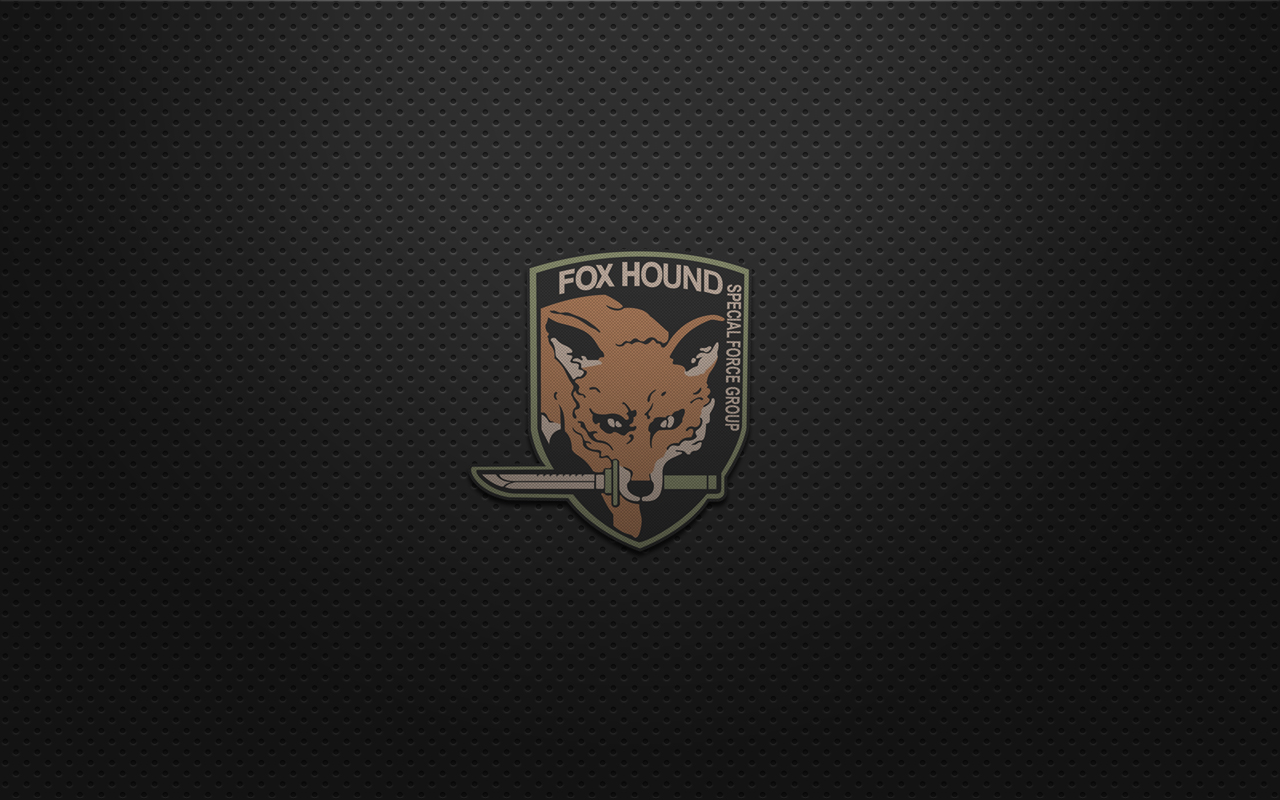 foxhound metal gear solid wallpaper metal gear solid mgs