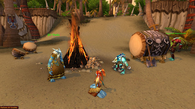 World of Warcraft Troll Druide