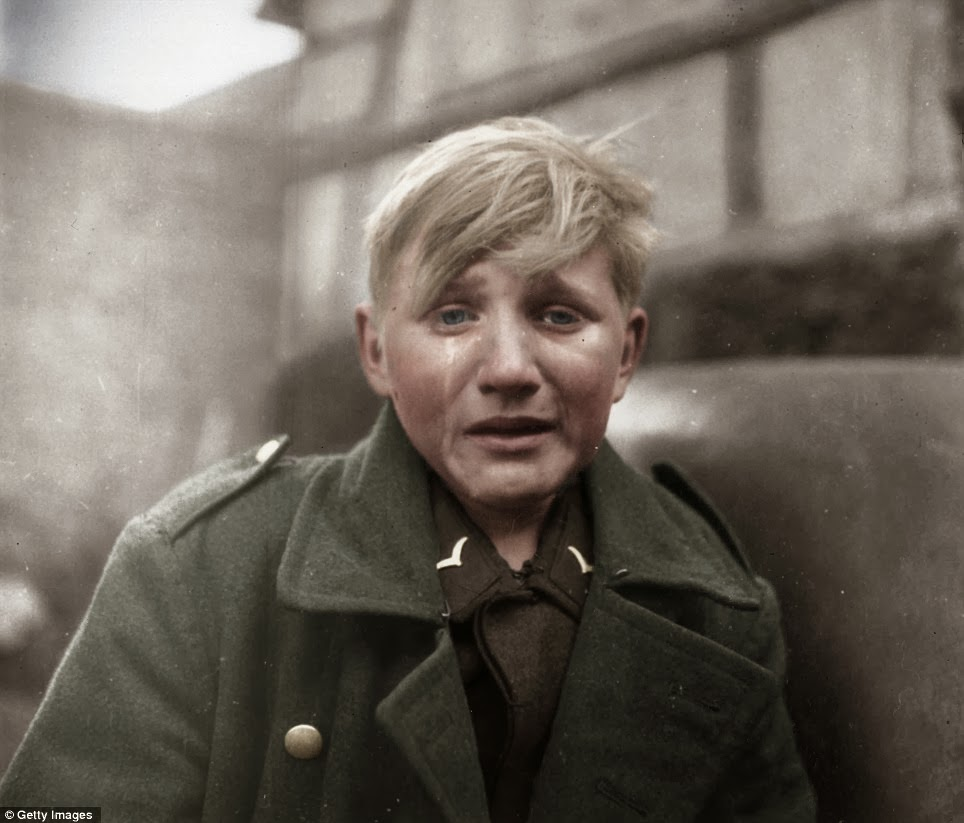 16 Year Old German Ww2 Soldier Crying Pics