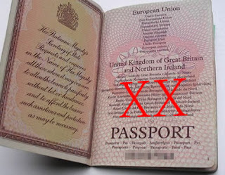 Two strikes in Russell Brand's passport
