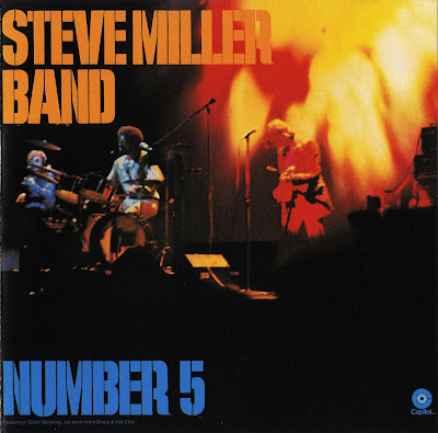 The Steve Miller Band - 1970 Number 5 - 1971 Rock Love ( Great us classic rock - wave)