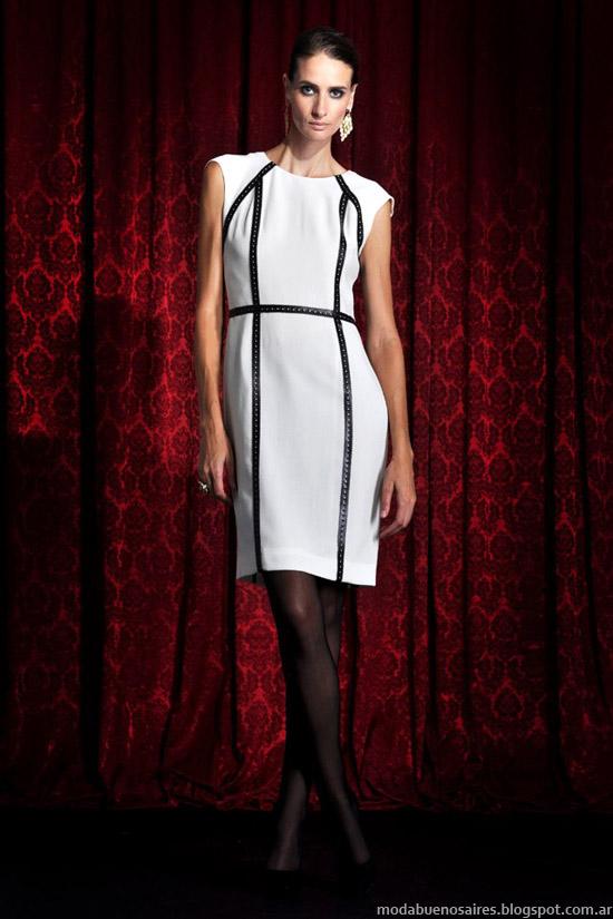 Vestidos invierno 2013 moda argentina Solo Ivanka