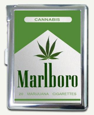 Funny Marlboro Cannabis Cigarette Case   MARLBORO DESIGN ...