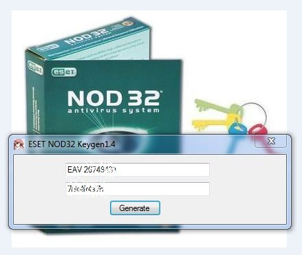2013 username and password of nod 32 antivirus 5