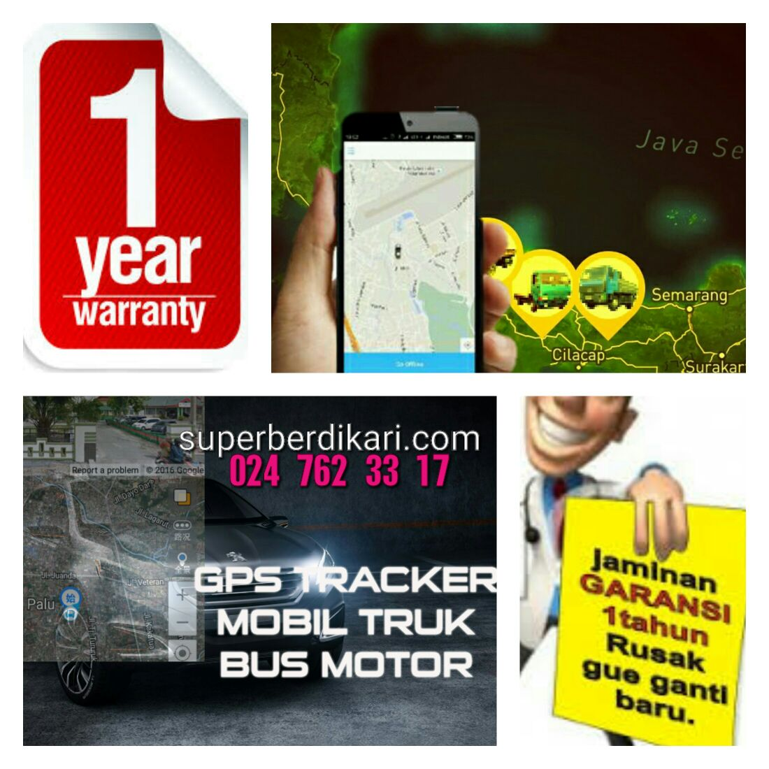GPS TRACKER SEJAK 2009