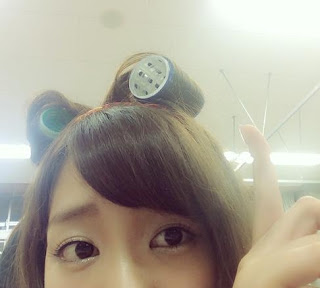 NGT48柏木由紀の髪型・ヘアセット写真!指原とのキス写真?も