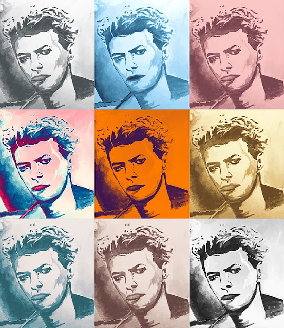 Heel veel dank aan Pixabay voor deze gratis afbeelding van David Bowie