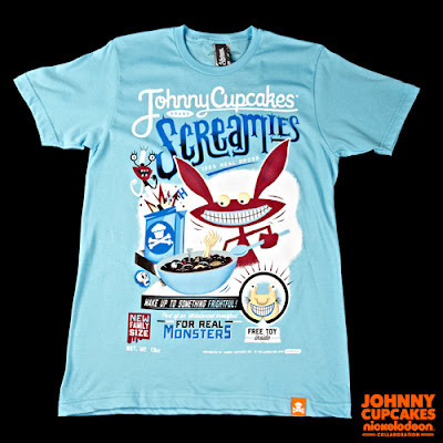 "Nickelodeon x Johnny Cupcakes Collection Wave 1 - Aaahh!!! Real Monsters ""Screamies"" t-shirt"