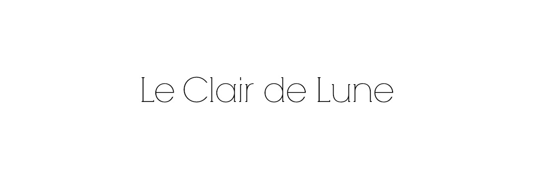 Le Clair de Lune