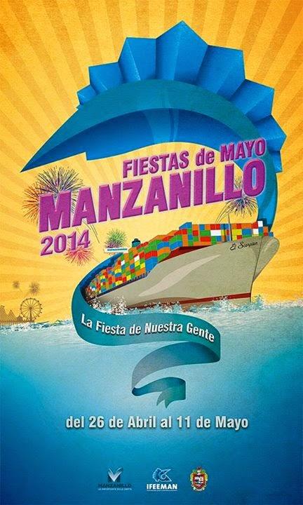 programa fiestas de mayo manzanillo 2014