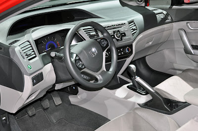 Interior do Honda Civic automatico painel