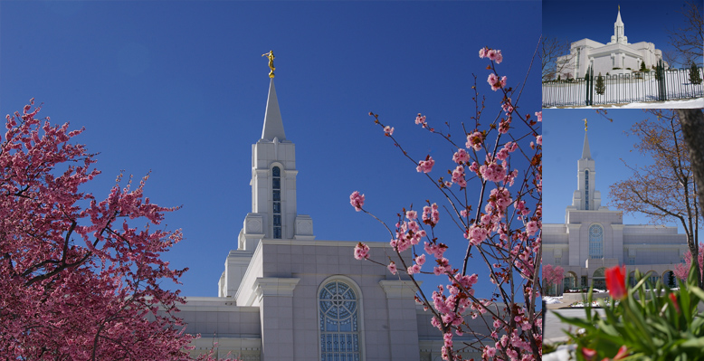 Bountiful Utah Temple, April 15, 2006