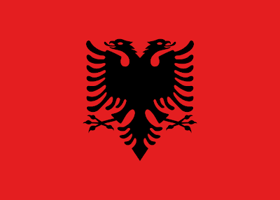 National Flag of Albania
