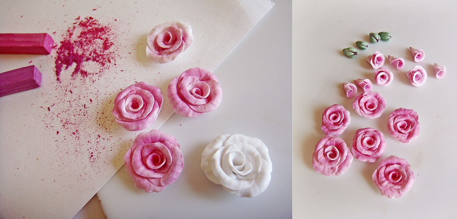 tutoriel comment faire des roses en fimo le de miss kawaii