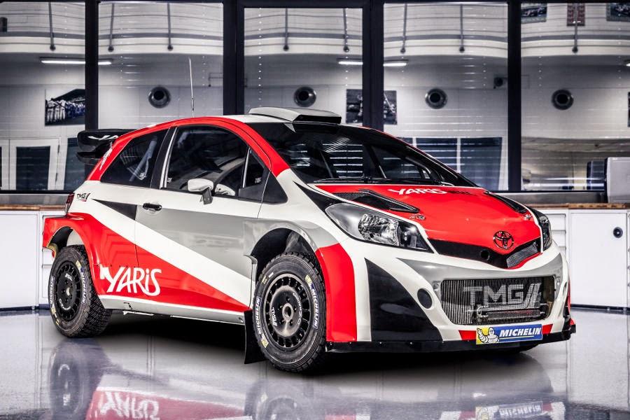 Toyota Yaris WRC Prototype 2017 Front Side