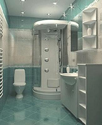 solución baño pequeño sin ventanas