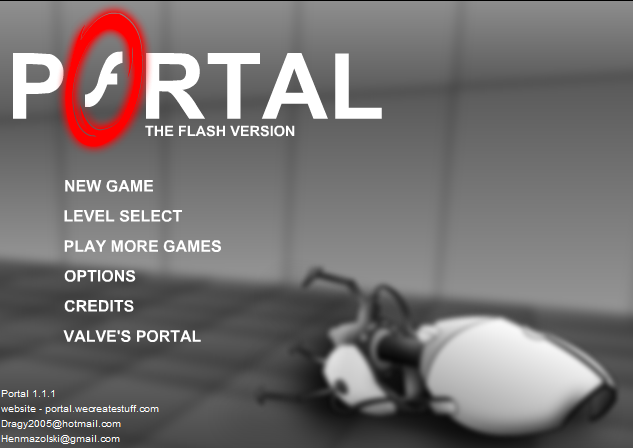 portal the flash game