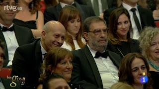 El ministro Wert en los Premios Goya 2013