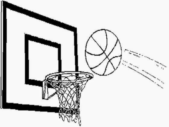 Basketball Coloring Sheets