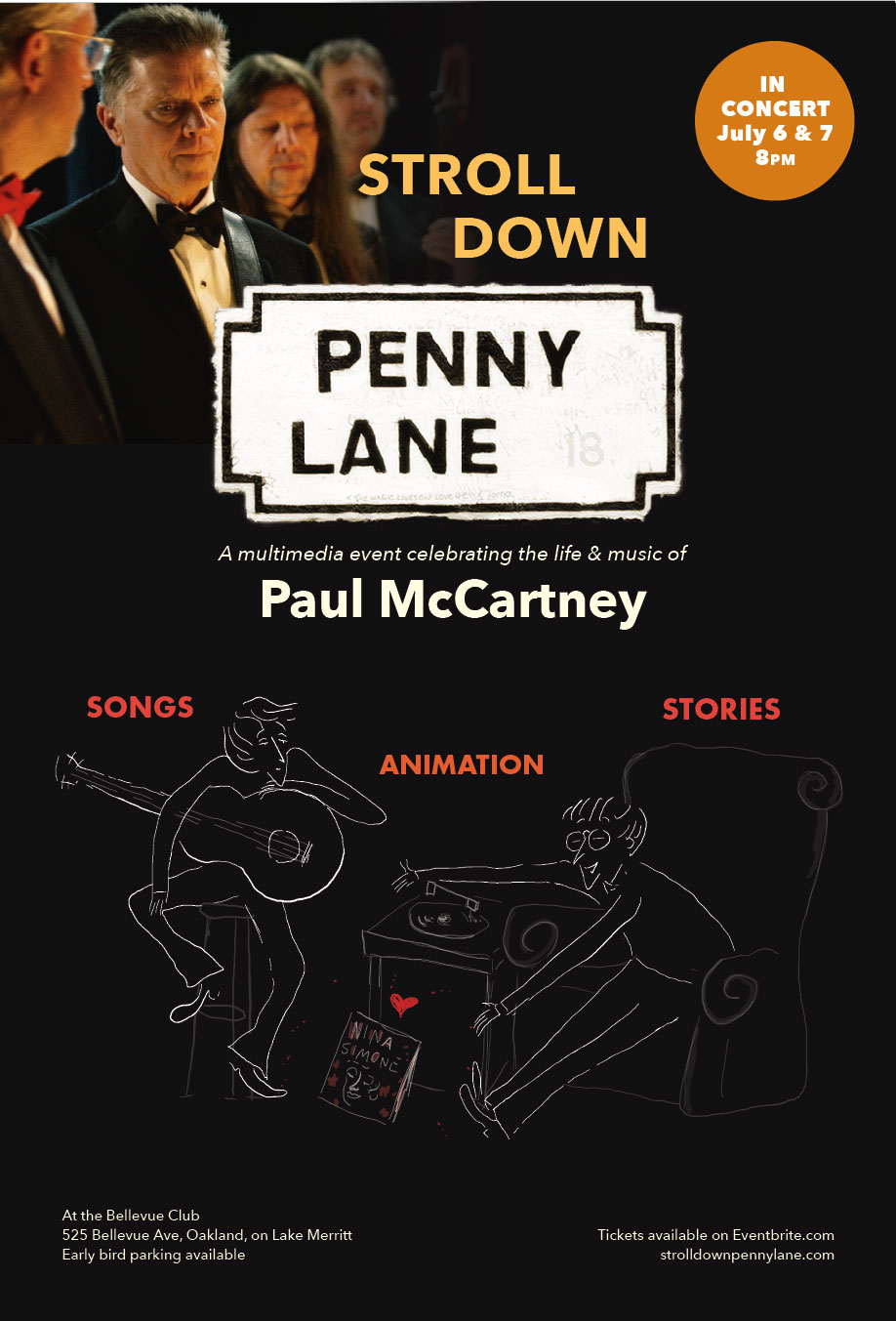 7/6 & 7/7 : Stroll Down Penny Lane Tribute to Paul McCartney **WIN TICKETS**