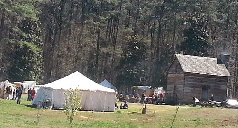 18th Century Colonial Market Faire at Fort Yargo State Park