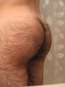 Hairy ass