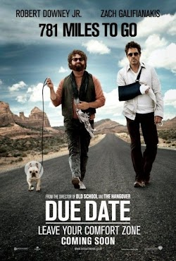 Đen Đủ Đường - Due Date (2010) Poster