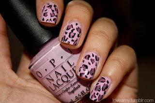 saranje noktiju - animal print nokti 012