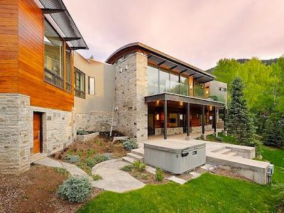 casa fachada de piedra