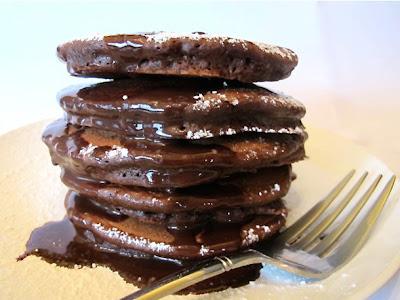 Πρωτεϊνούχες τηγανίτες σοκολάτας