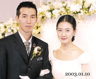 lee yo won and her husband pro golfer Park Jin-Woo