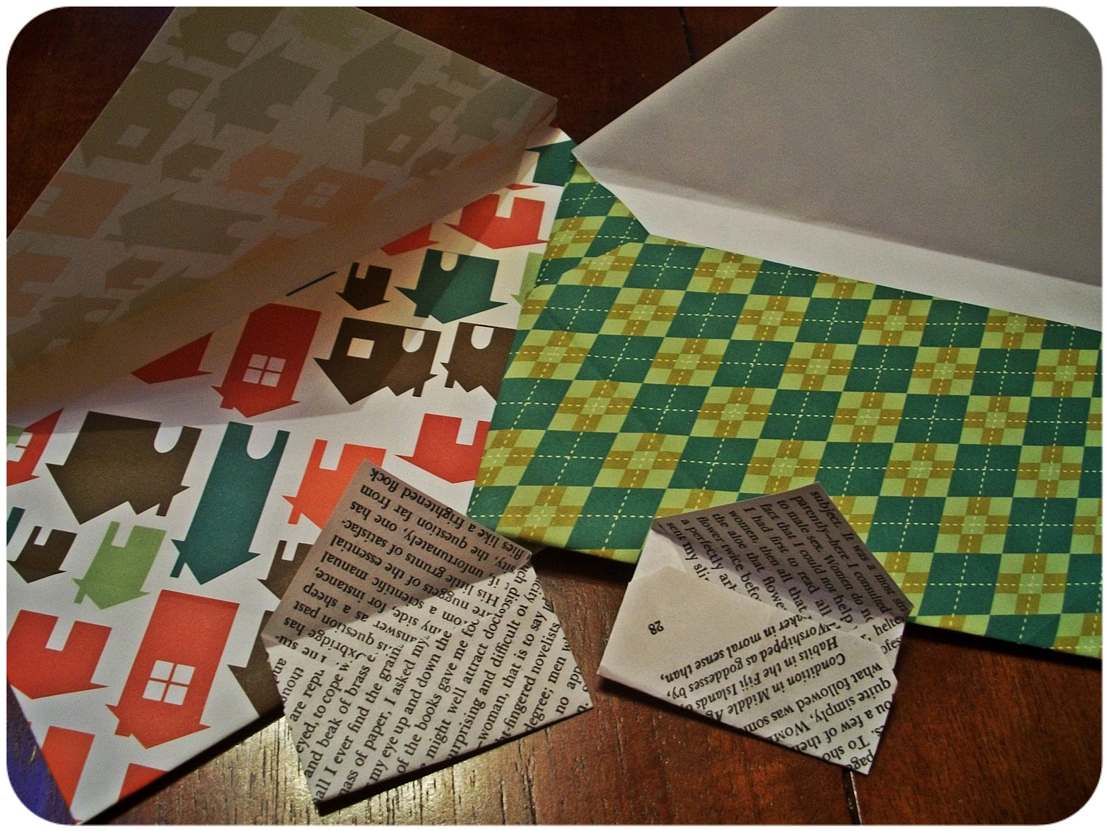 Scrapbook paper envelope - I Feel Like If You Get A Letter With An Exciting Envelope Then The Letter Inside Is Bound To Be Exciting Too D I Learned How To Make Envelopes Ages Ago