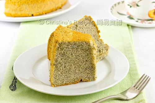 黑芝麻戚風蛋糕 Sesame Chiffon Cake02