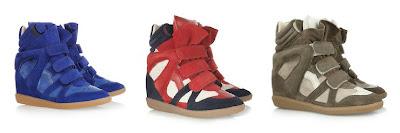 Isabel Marant sneaker con zeppa